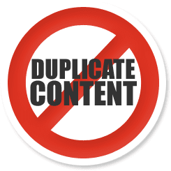 Create original content for your website. Pass it through Copyscape