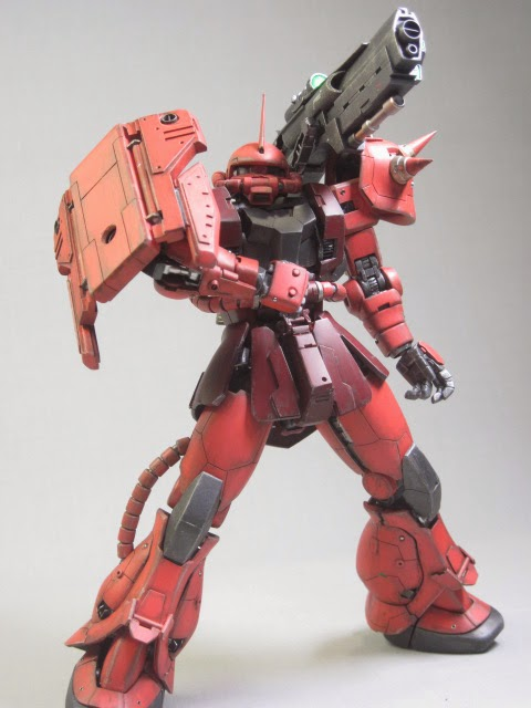 Custom Build Mg 1 100 Char S Zaku Ii Quot Zaku F Ii