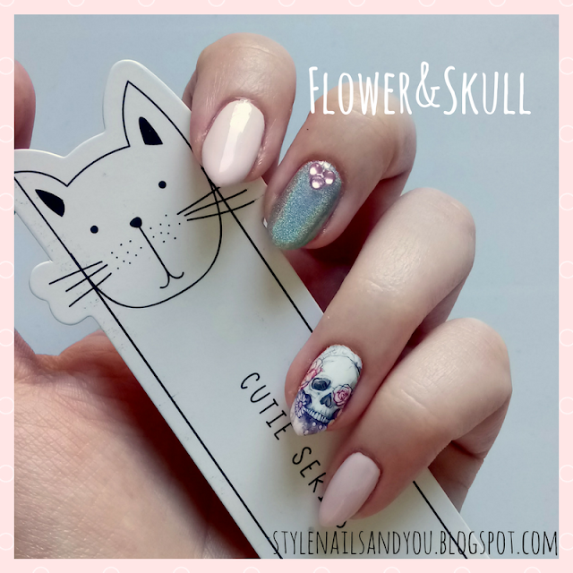 Flower&Skull | Water Decals BeautyBigBang