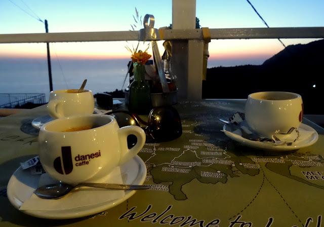 Coffee at Lefkatas Athani