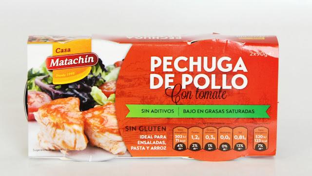Pechuga de pollo Escabeche Casa Matachín