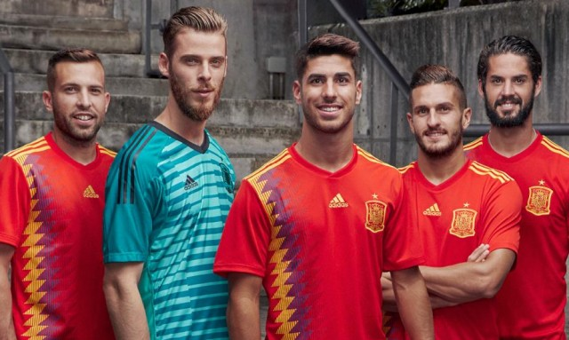 Jersey Spanyol Piala Dunia 2018