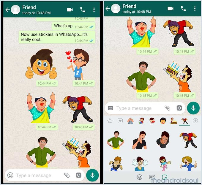 Whatsapp stickers now available for Android and iOS users