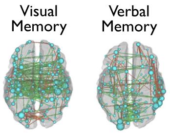 図:機能的結合と脳卒中