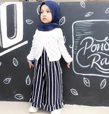 Koleksi Baju Muslim Anak Perempuan Lucu Terbaru