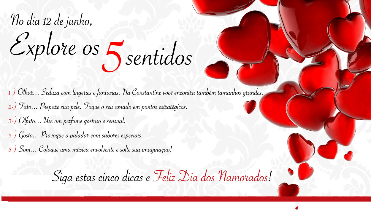 Dia Dos Namorados: Constantine Boutique: Feliz Dia Dos Namorados
