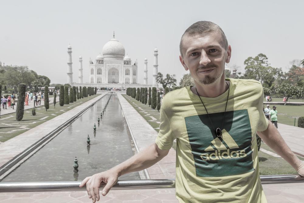 Taj Mahal in India UNSECO-Weltkulturerbe