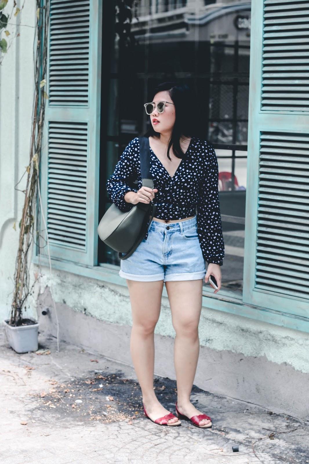 singapore blogger style stylist photographer street style look book fashion fashionista wiwt ootd stylexstyle denim the gentle monster shades saigon weekend trip vietnam inspiration