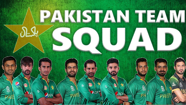 WC 2019 Pakistan Team Squad