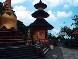pagoda and vajra brahmavihara arama monastery
