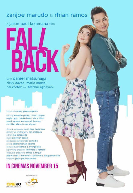 Fall Back in PH Cinemas on November 15, 2017