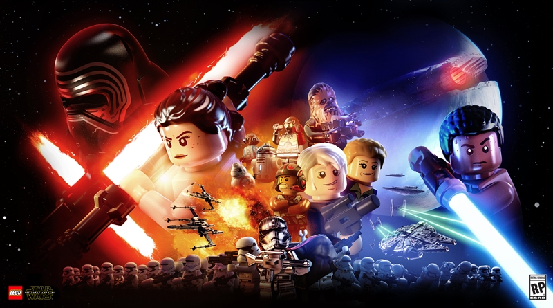 LEGO Star Wars The Force Awakens Download Poster