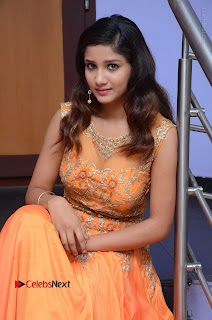 Telugu Actress Aarti Stills in Long Dress at Plus One ( 1) Audio Launch  0048.jpg