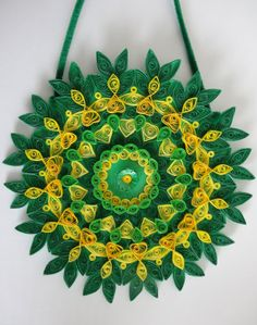 Quilling Wall Hanging Designs 2015
