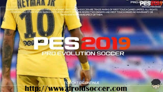 FTS Mod PES 2019 v2.5 by Allan Games Apk + Data Obb