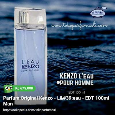 toko parfum asli parfum original kenzo leau pour homme edt 100ml man