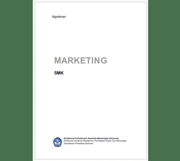 Buku SMK Bisnis Manajemen Marketing