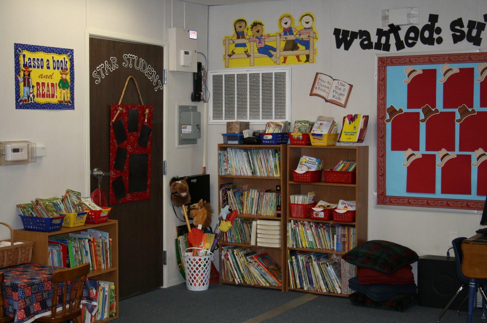 Western Themed Classroom