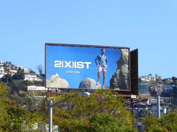 2xist activewear Spring 2016 billboard
