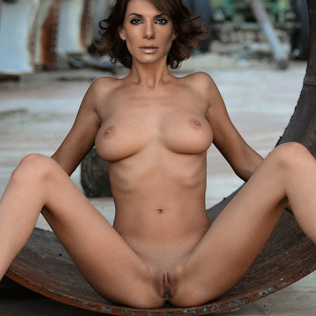 Sandra Bullock naked Playboy nude spread legs