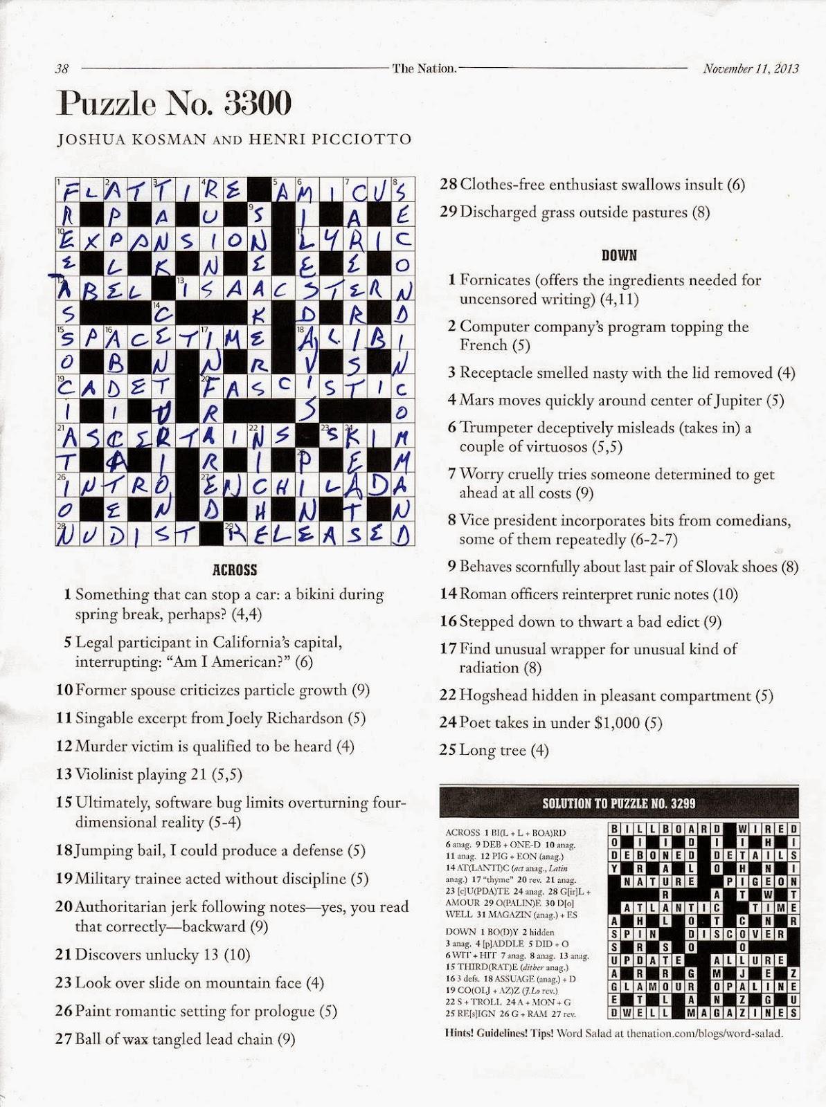 The crossword the ximenes pdf on of art