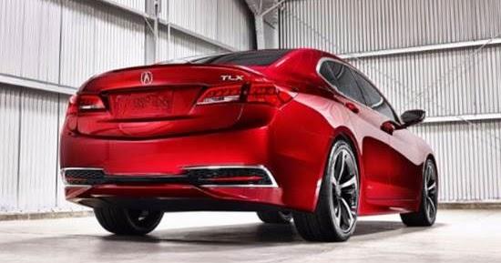 2018 Acura TLX Release Date Canada | Auto Design Price