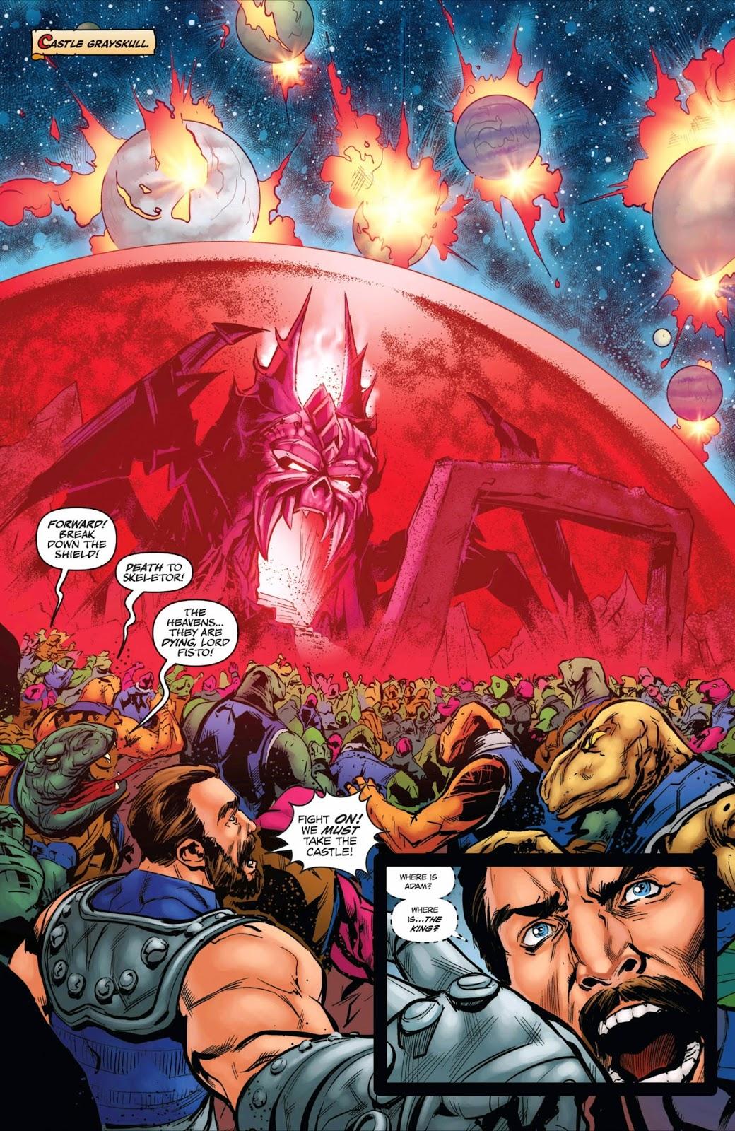 Weird Science DC Comics: He-Man: The Eternity War #12 ...