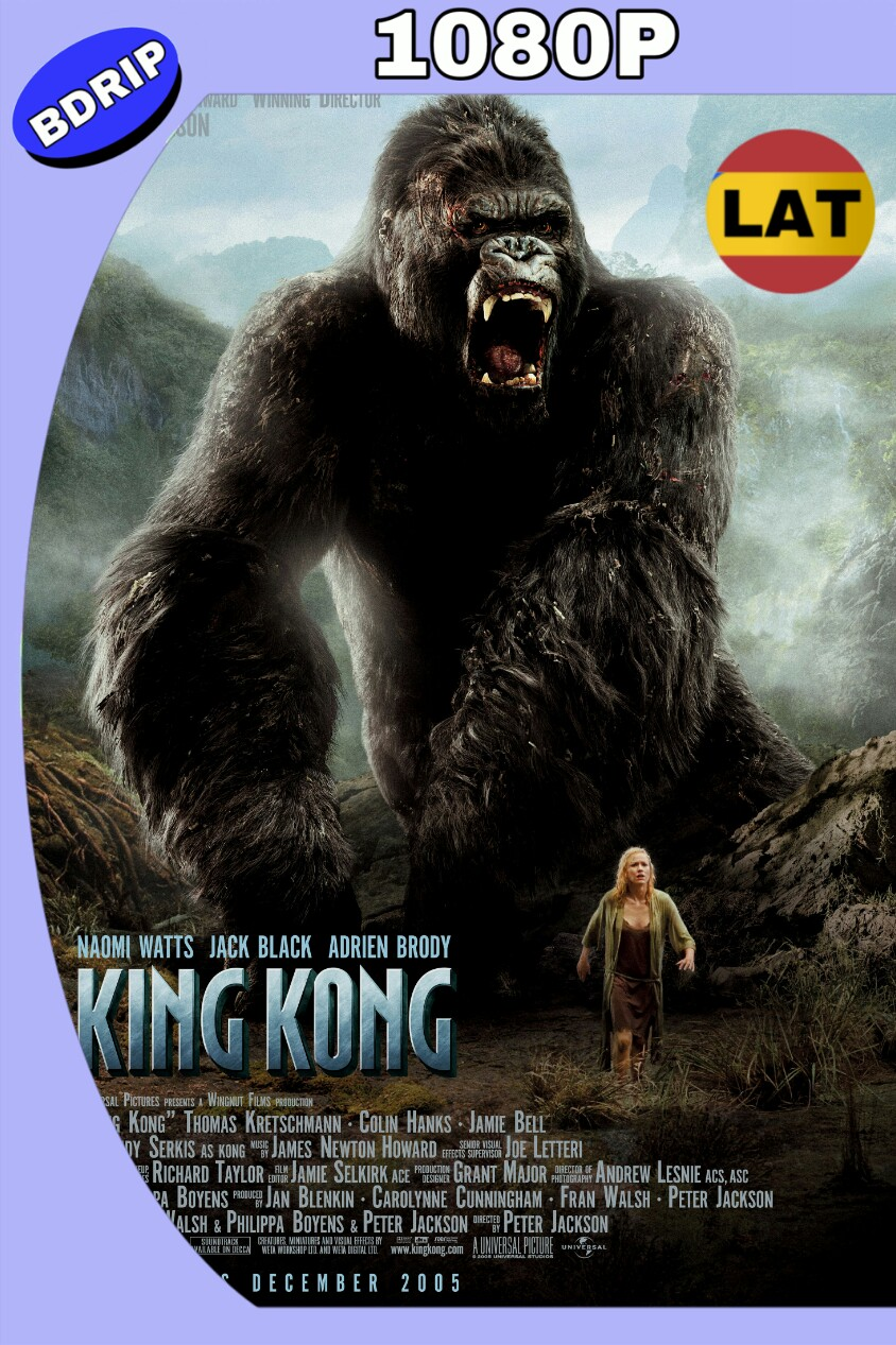 KING KONG (2005) EXTENDIDO HD BDRIP 1080P LAT-ING MKV
