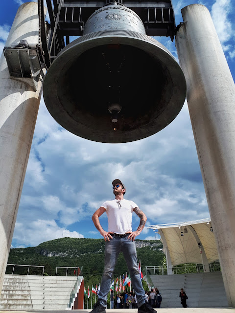 The Bell of The Fallen in Rovereto, Trentino with Steven Herteleer