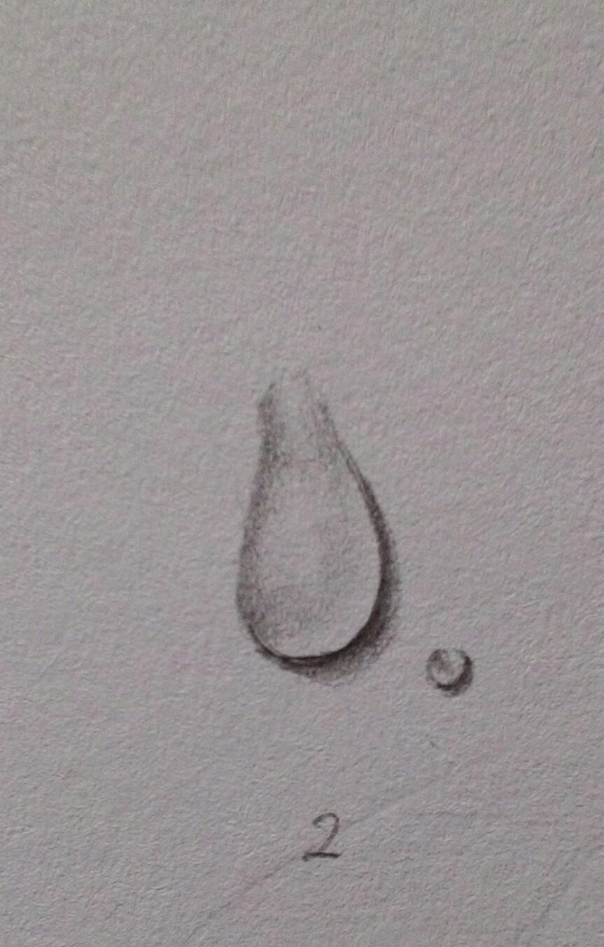 Bagaimana Cara Menggambar Air Dengan Pensil