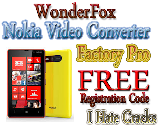 WonderFox Nokia Video Converter Factory Pro Free Download With Legal Registration Code