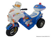 Motor Mainan Aki Junior CH8811 Police Moto Car