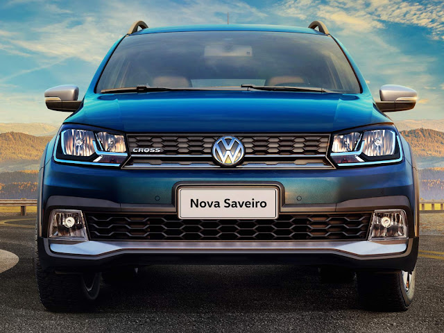 Nova VW Saveiro 2017 - Cross