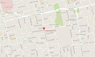 La Casa Vieja restaurante mapa ubicacion