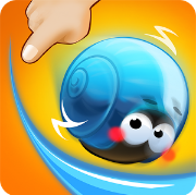Game Android Rolling Snail - Drawing Puzzle Download