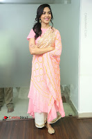 Actress Ritu Varma Pos in Beautiful Pink Anarkali Dress at at Keshava Movie Interview .COM 0079.JPG