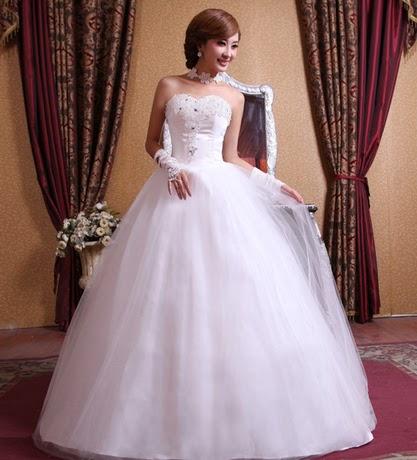 model baju gaun pengantin