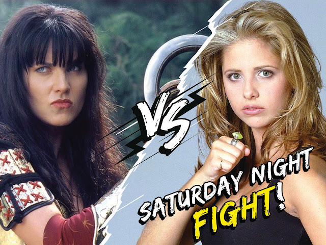 Xena vs Buffy Antro