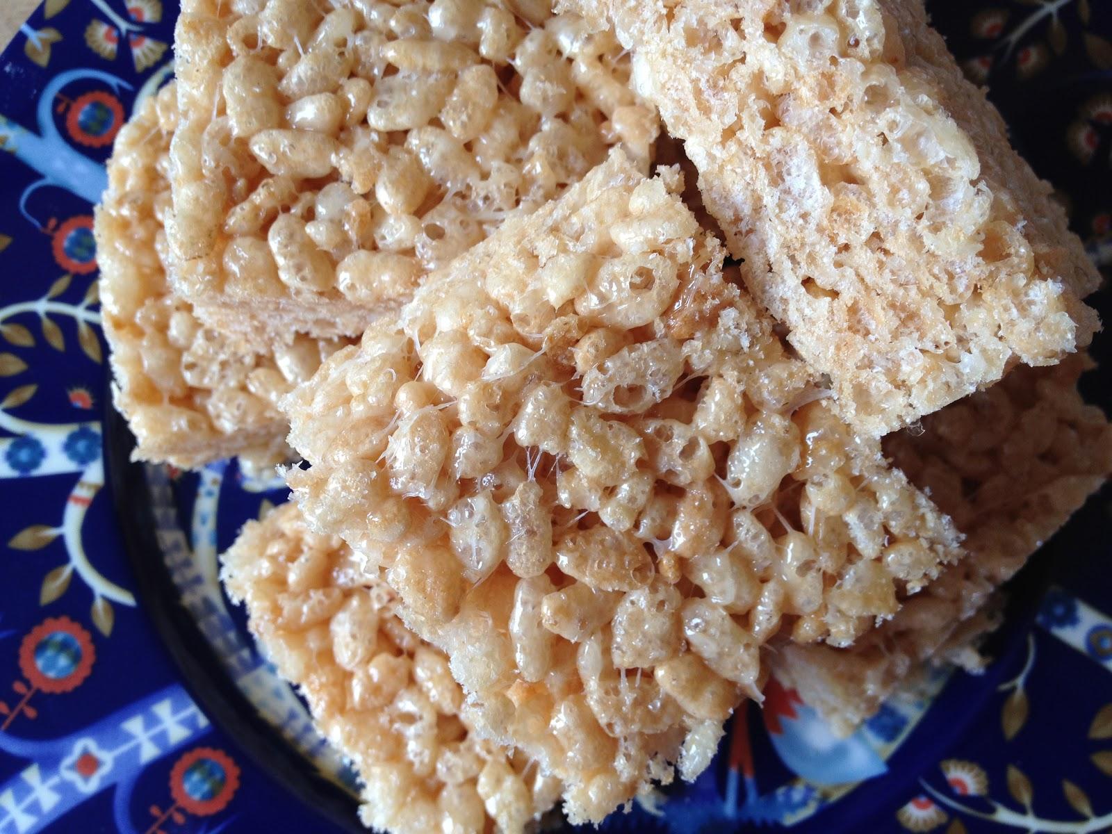 Rice krispies kage opskrift