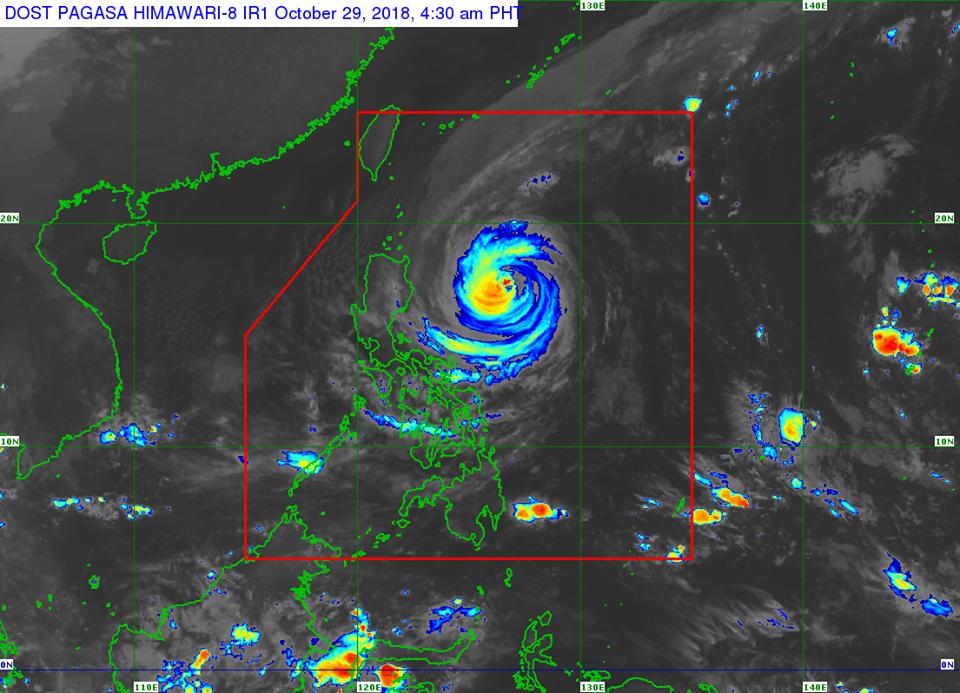 'Bagyong Rosita' PAGASA weather update October 29, 2018