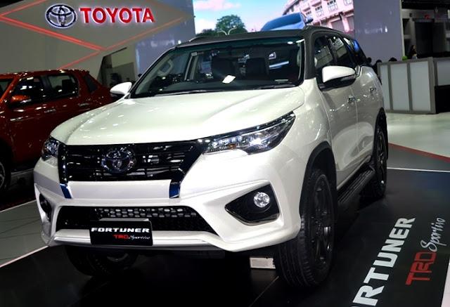 Harga dan Kredit Toyota Fortuner TRD Pekanbaru Riau 2018