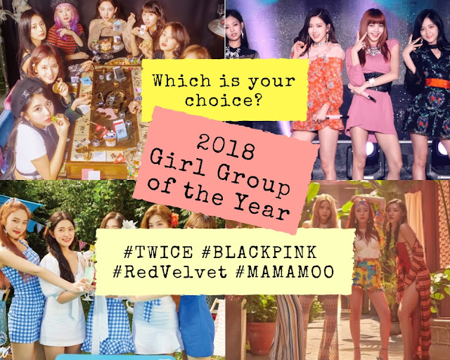 2018 kpop girl group of the year award poll