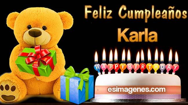 Feliz Cumpleaños Karla