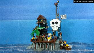 [MOC] Isla de Kranium - Pirates' Skull Island