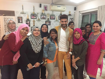 Gurmeet Choudhary fans travelled all way from Malaysia