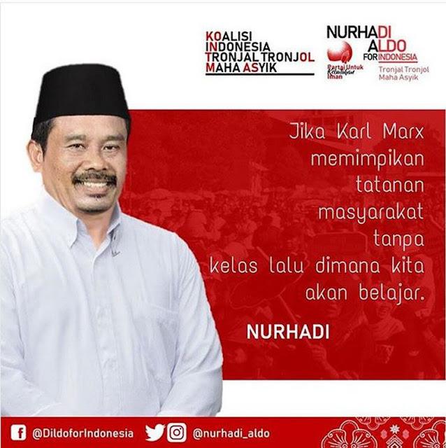 Viral Capres Fiktif 2019 Nurhadi-Aldo, Fakta dan Kutipan Nyeleneh Kejenuhan Kampanye