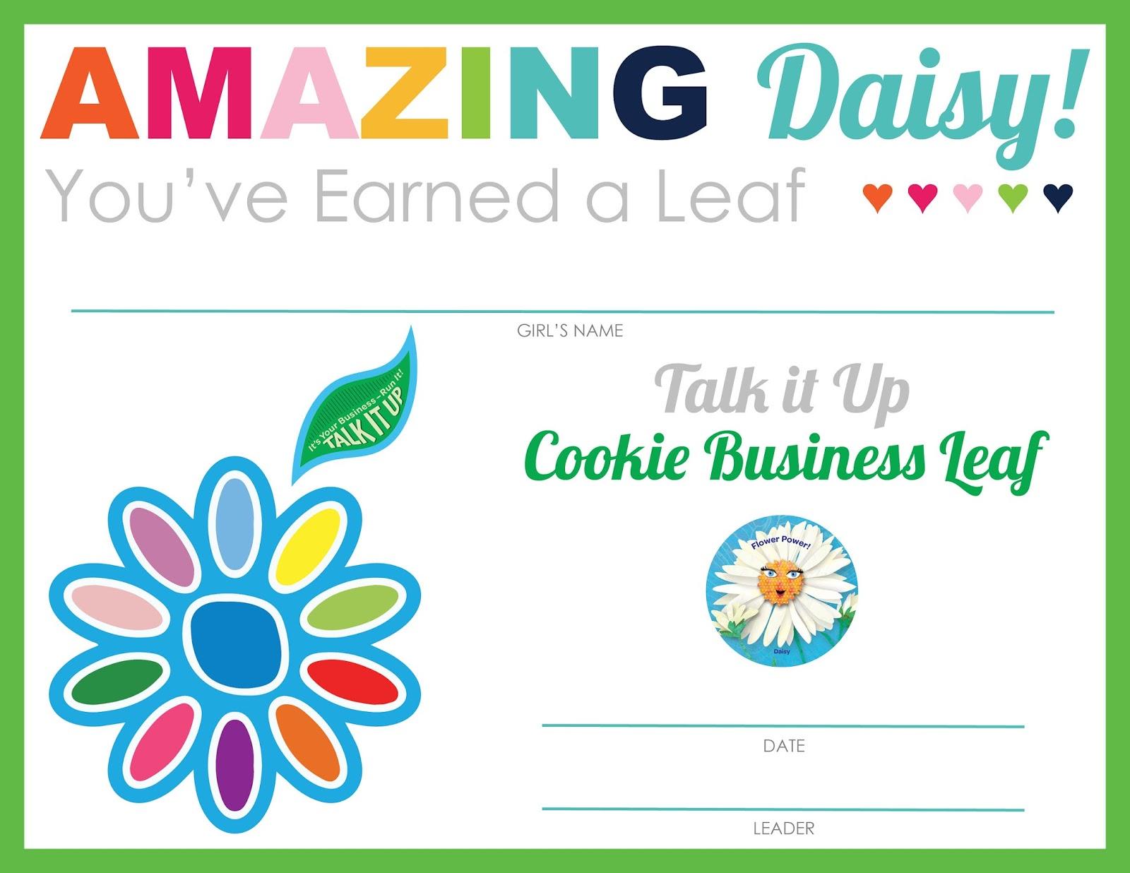 Strawjenberry Designs Amazing Daisy Petal Leaf Certificates