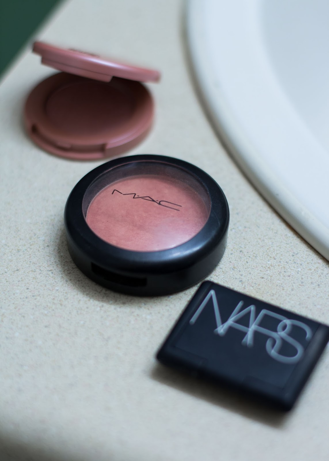 Fall Winter make-up routine - Favorite beauty products - blush - Nars - tarte - M.A.C