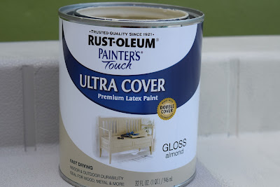 Painting Outdoor storage box, latex paint, from home depot stores
