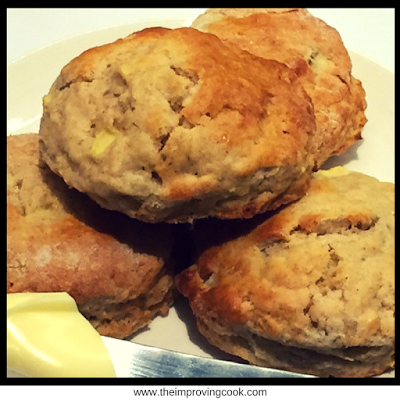 The Improving Cook Apple Cinnamon Scones